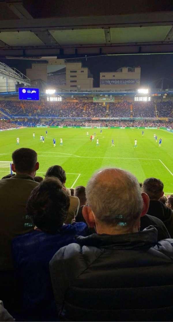 Stamford Bridge, section: Matthew Harding lower 11, row: BB, seat: 52