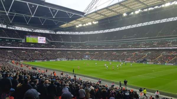 Wembley Stadium, section: 116, row: 42, seat: 123