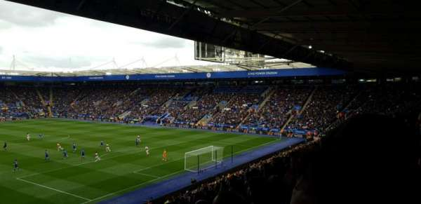 King Power Stadium, section: M1, row: GG, seat: 442