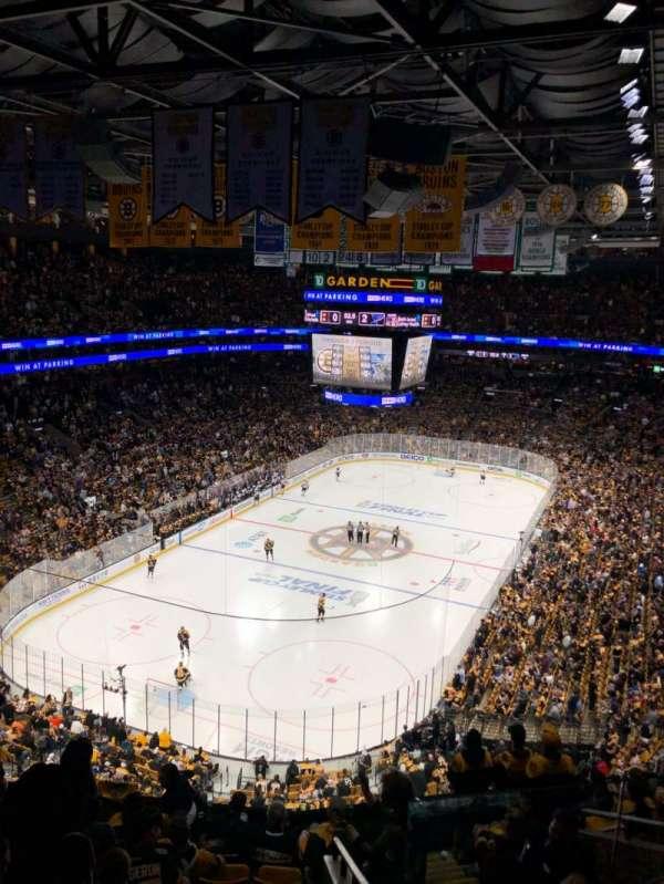 TD Garden, section: BAL 322, row: 10, seat: 2