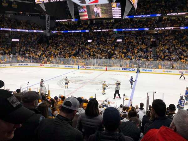 Bridgestone Arena, section: 116, row: C, seat: 4