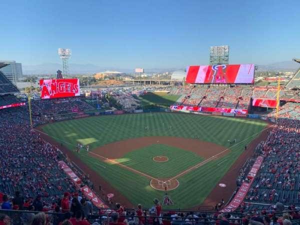 Angel Stadium, section: 520, row: J, seat: 6