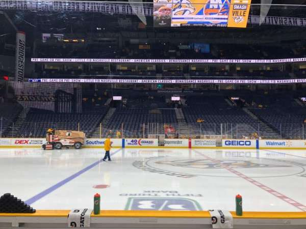 Bridgestone Arena, section: 115, row: DD, seat: 7