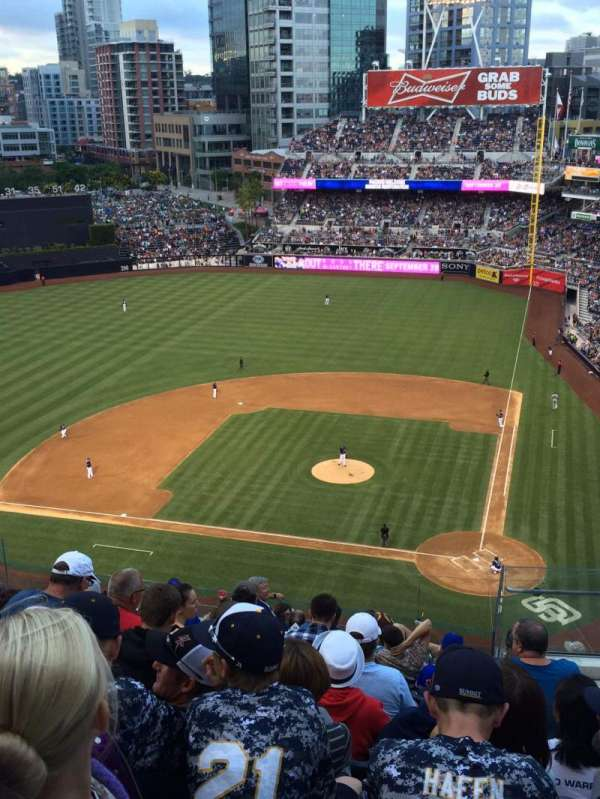 PETCO Park, section: 308, row: 16, seat: 1