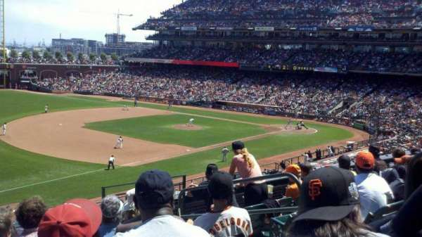 AT&T Park, section: 228, row: K, seat: 14