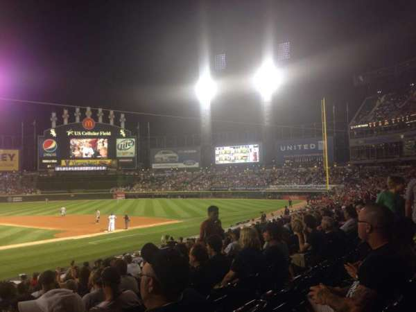 Guaranteed Rate Field, section: 128, row: 20, seat: 11