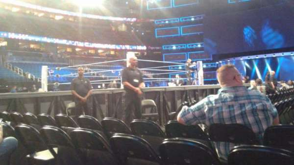 Amway Center, section: F4, row: D, seat: 3
