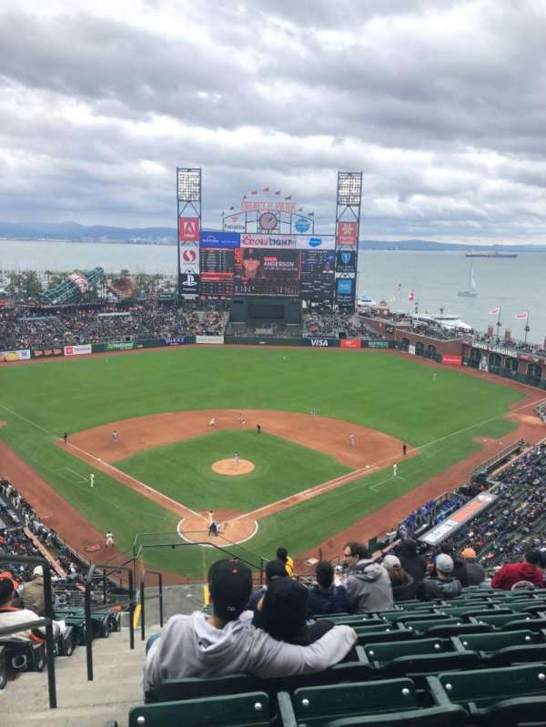 Oracle Park, section: VR314, row: 12, seat: 28