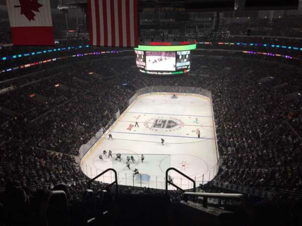 Staples Center, section: 325, row: 7, seat: 26