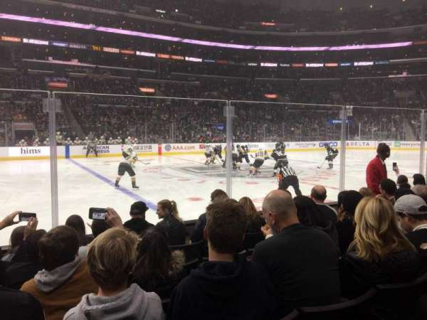 Staples Center, section: 112, row: 6, seat: 11