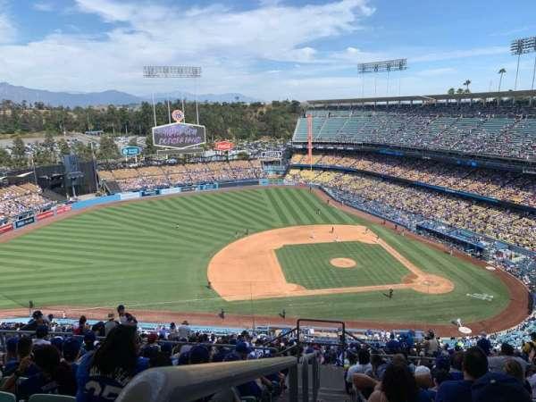 Dodger Stadium, section: 17RS, row: JJ, seat: 23