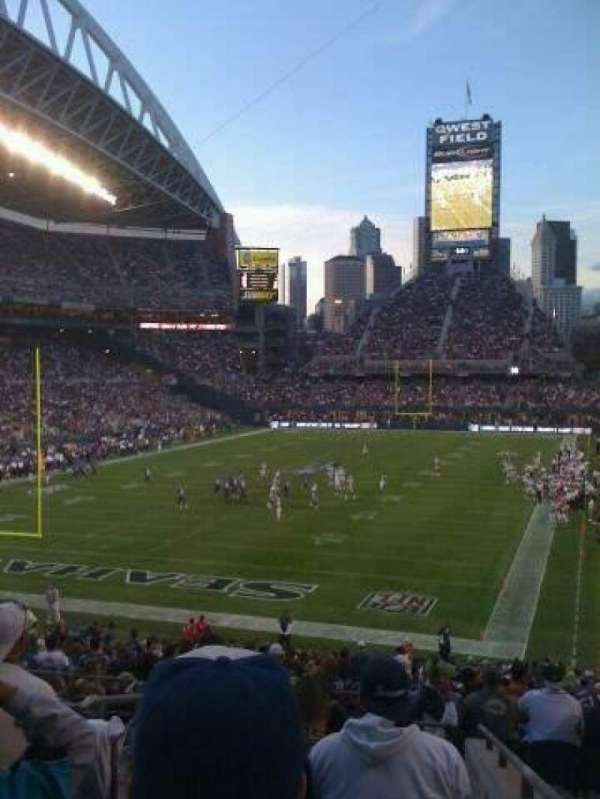 CenturyLink Field, section: 119, row: ghost
