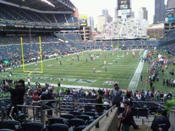 CenturyLink Field, section: 119, row: hh