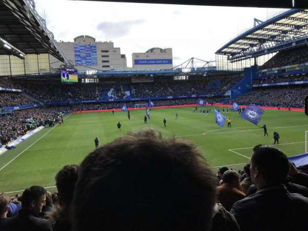 Stamford Bridge, section: Matthew Harding Lower, row: AA, seat: 0133