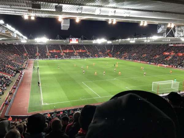St Mary's Stadium, section: Away Section Block 46, row: LL, seat: 1192