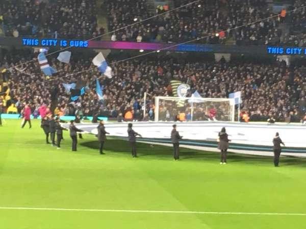 Etihad Stadium (Manchester), section: 138, row: M, seat: 1058