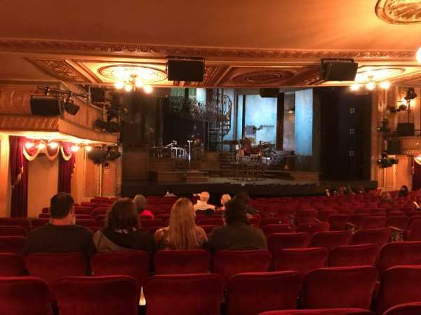 Walter Kerr Theatre, section: OORCHL, row: S, seat: 19