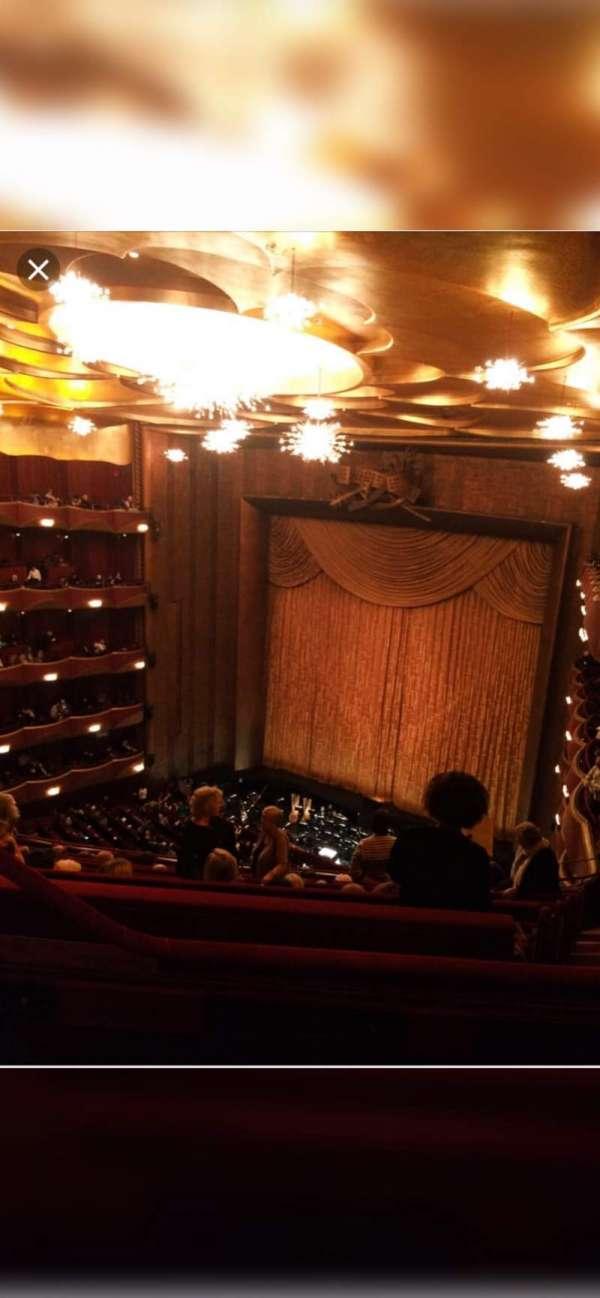 Metropolitan Opera House - Lincoln Center, section: Balcony, row: L, seat: 5
