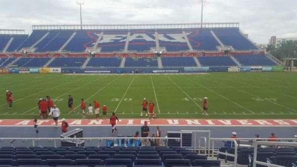 FAU Stadium, section: 105, row: L, seat: 3