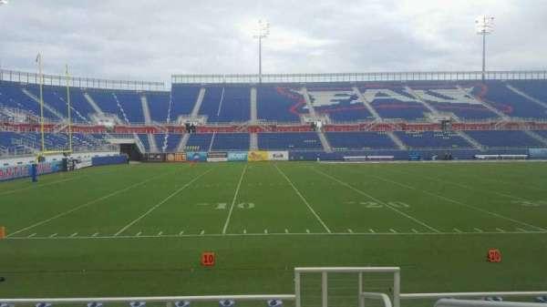 FAU Stadium, section: 109, row: F, seat: 1