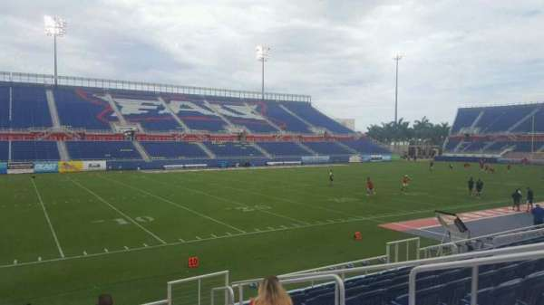 FAU Stadium, section: 110, row: F, seat: 5