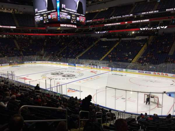 Centre Vidéotron, section: 119, row: kk, seat: 18