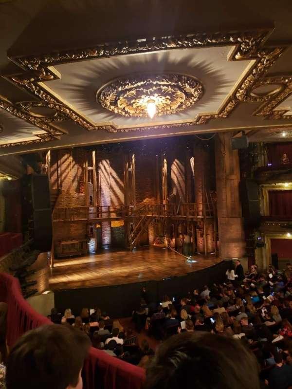 CIBC Theatre, section: Dress Circle R, row: B, seat: 7