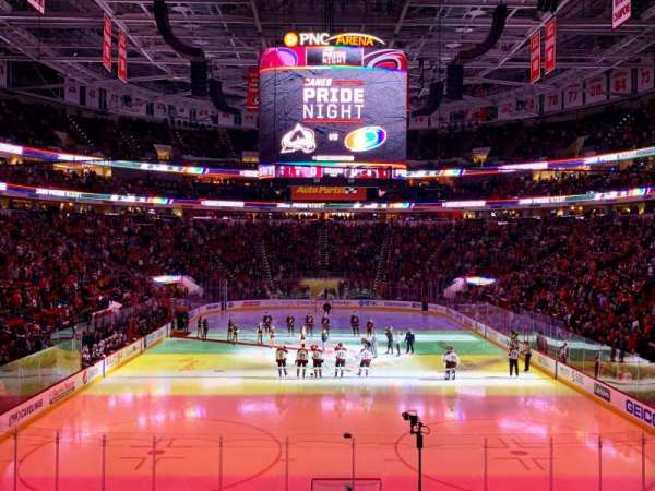 PNC Arena, section: 127, row: T, seat: 1