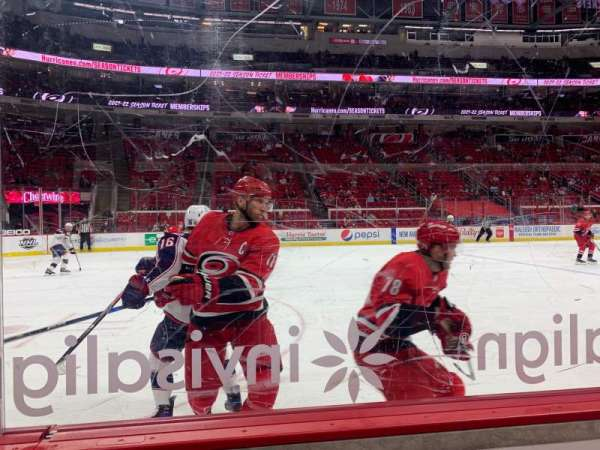 PNC Arena, section: 106, row: B, seat: 10