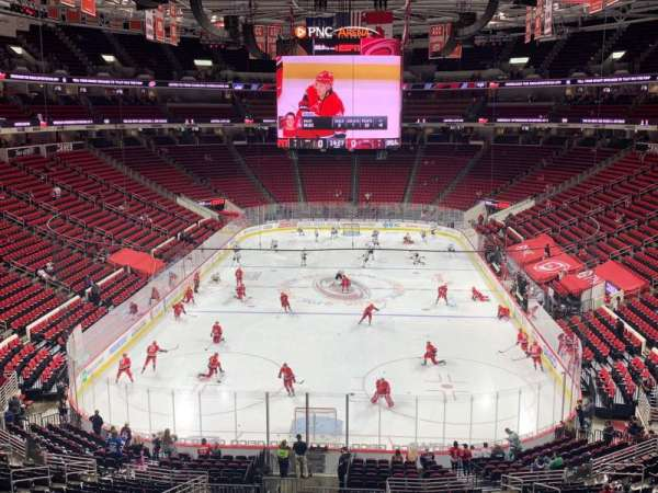 PNC Arena, section: 212, row: B, seat: 5