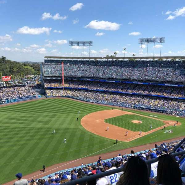 Dodger Stadium, section: 41RS, row: CC, seat: 8