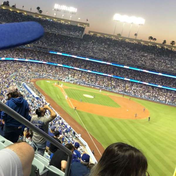 Dodger Stadium, section: 56RS, row: T, seat: 2