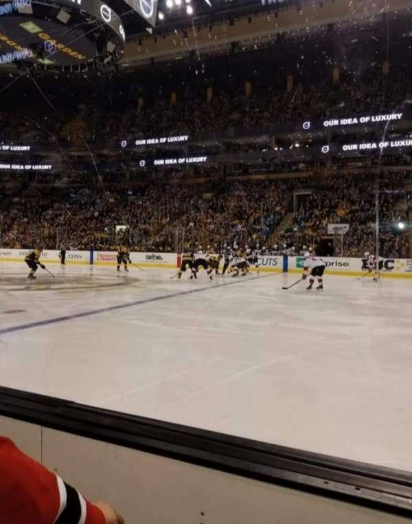 TD Garden, section: Loge 11, row: 2, seat: 1&2