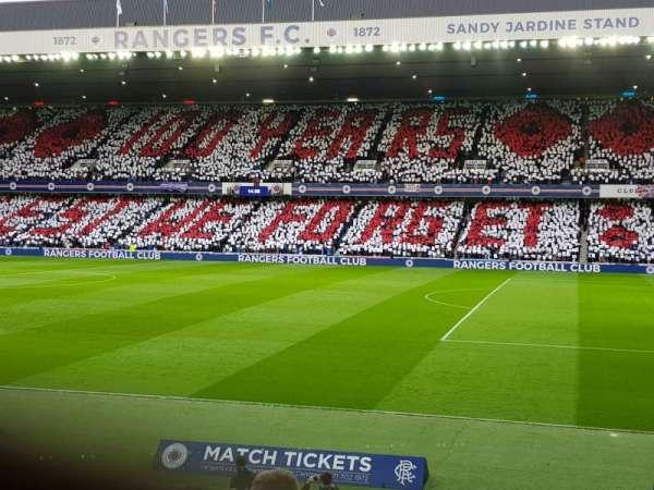 Ibrox Stadium , section: SE3, row: X, seat: 66