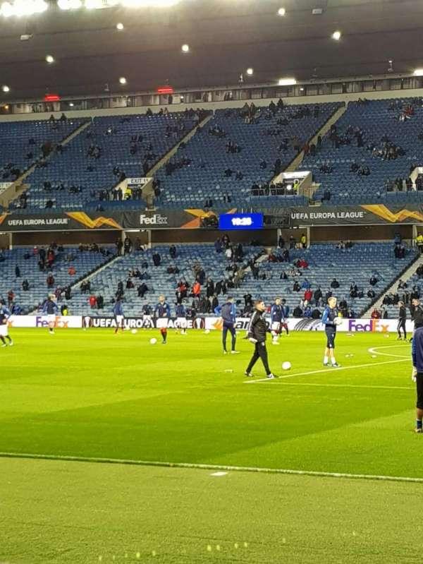 Ibrox Stadium , section: Se2, row: H