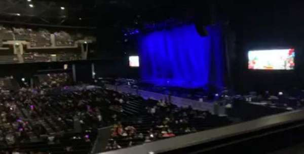 The SSE Hydro, section: 216, row: A, seat: 253