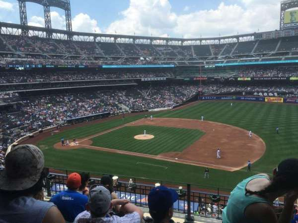 Citi Field, section: 310, row: 2, seat: 8