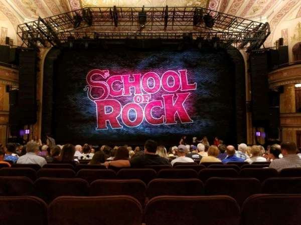 Winter Garden Theatre, section: Orchestra, row: Q, seat: 107