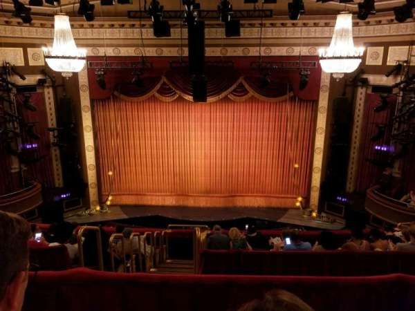 Imperial Theatre, section: Rear Mezzanine 3, row: B, seat: 6