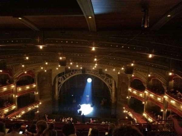 Lyric Theatre, section: Balcony C, row: G, seat: 117