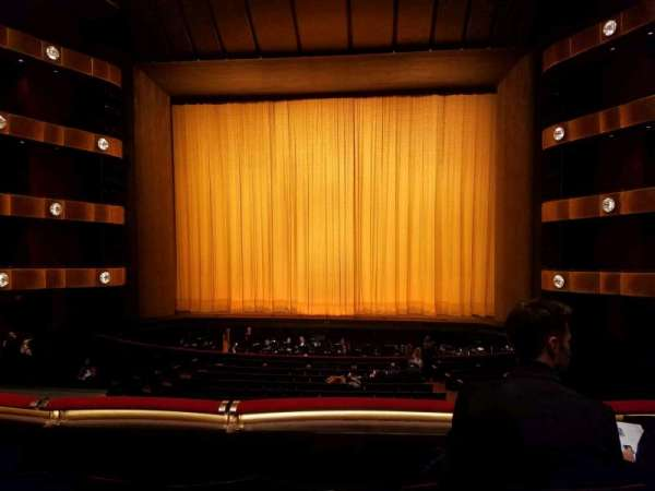 David H. Koch Theater, section: 1st Ring, row: C, seat: 113