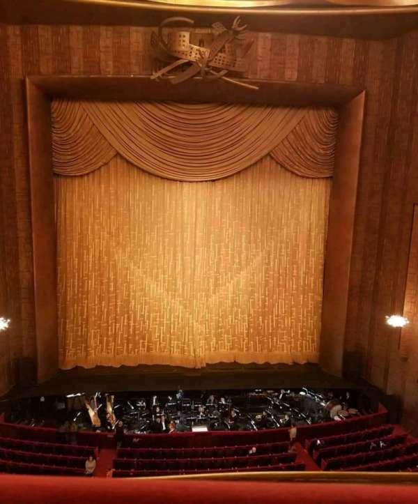 Metropolitan Opera House - Lincoln Center, section: Balcony, row: A, seat: 109