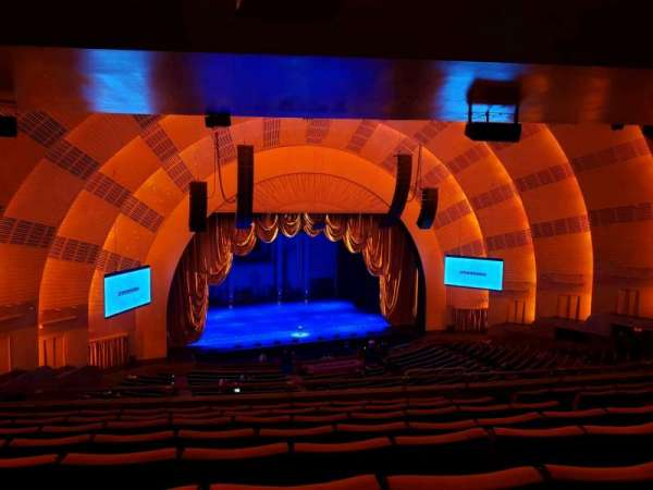 Radio City Music Hall, section: 2nd Mezzanine 6, row: H, seat: 607