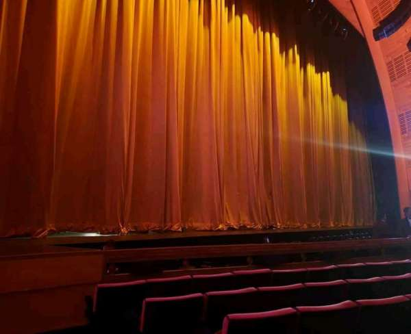 Radio City Music Hall, section: Orchestra 6, row: FF, seat: 602