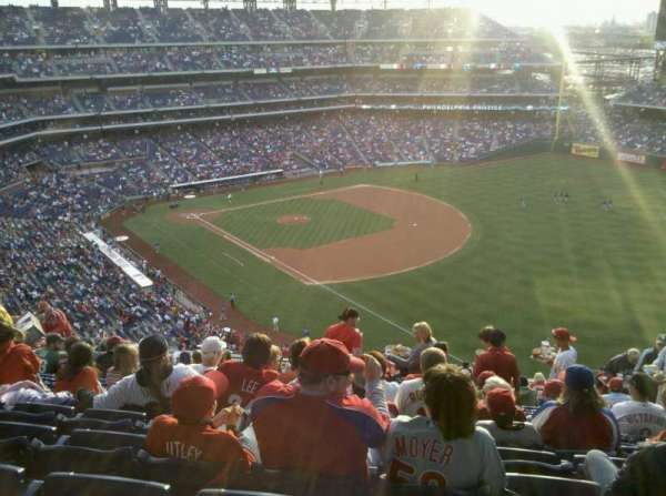 Citizens Bank Park, section: 309, row: 20, seat: 9