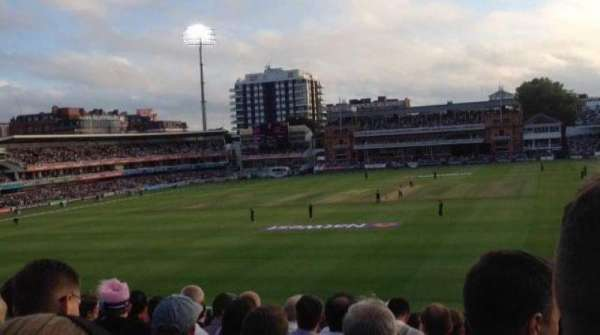 Lord's Cricket Ground, section: 19, row: T, seat: 72