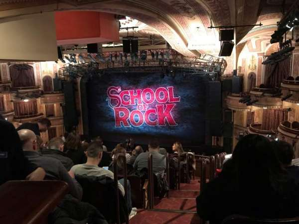 School of rock photos - Winter garden theater seating chart ...