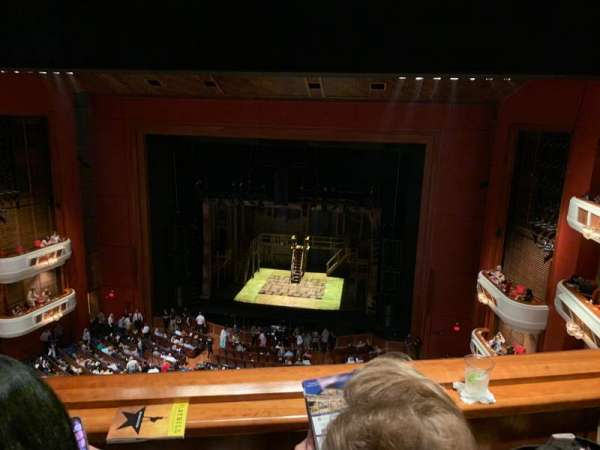 Au-Rene Theatre at the Broward Center, section: BALRC, row: B, seat: 122