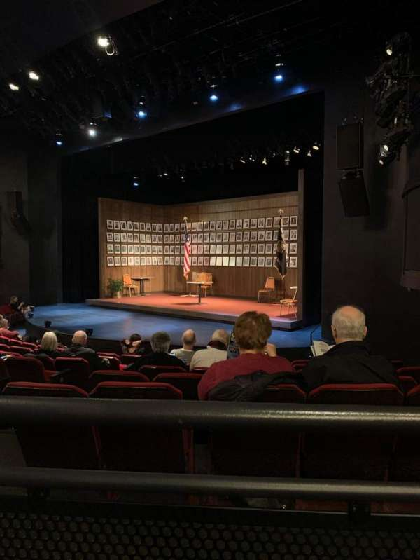 Broadway Playhouse, section: Right, row: G, seat: 8