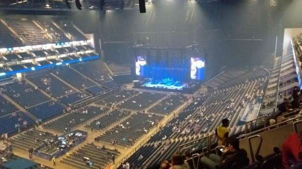 The O2 Arena, section: 415, row: J, seat: 813